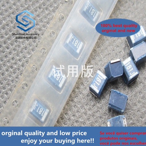 30pcs 100% Orignal New High Frequency Winding Inductor NL453232T-180J 18uH 190mA 5% SMD 1812 = 4532
