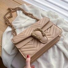 Cukierki kolor moda marka kobiety torba miękka torba kurierska ze skóry PU projektant łańcucha torba na ramię Crossbody torebka Bolso Mujer
