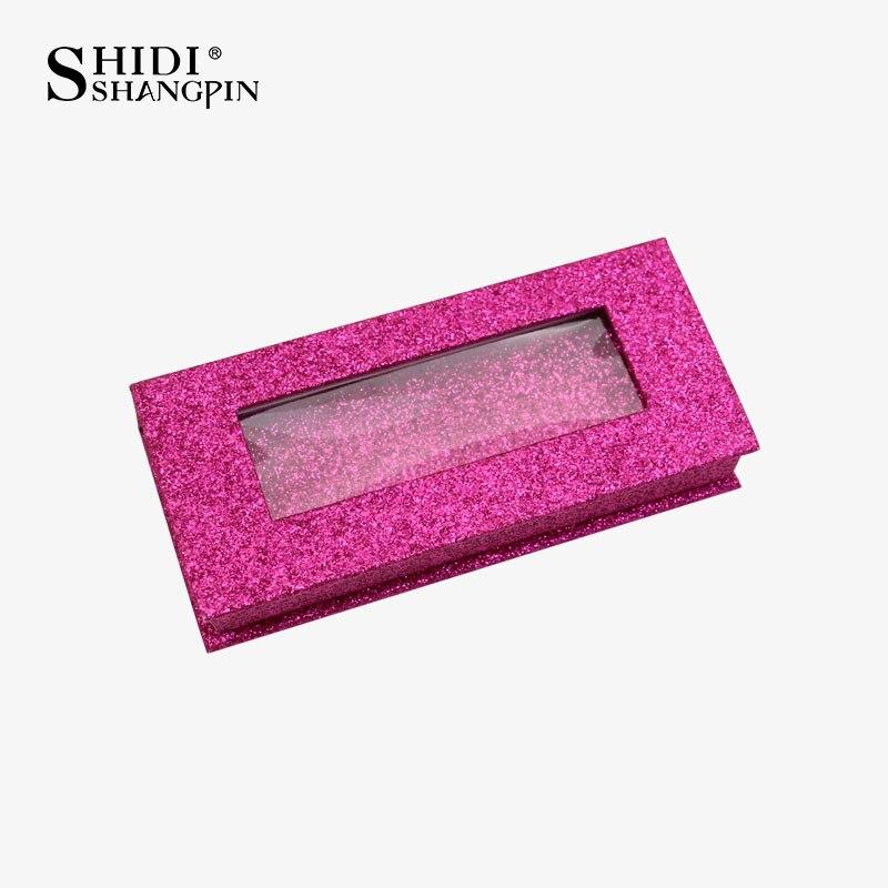 Image 4 - 卸売まつげボックスミンクまつげボックスきらめくボックスつけまつげ容器フルストリップまつげボックス偽 Cilios フェイク cilsつけまつげ   -