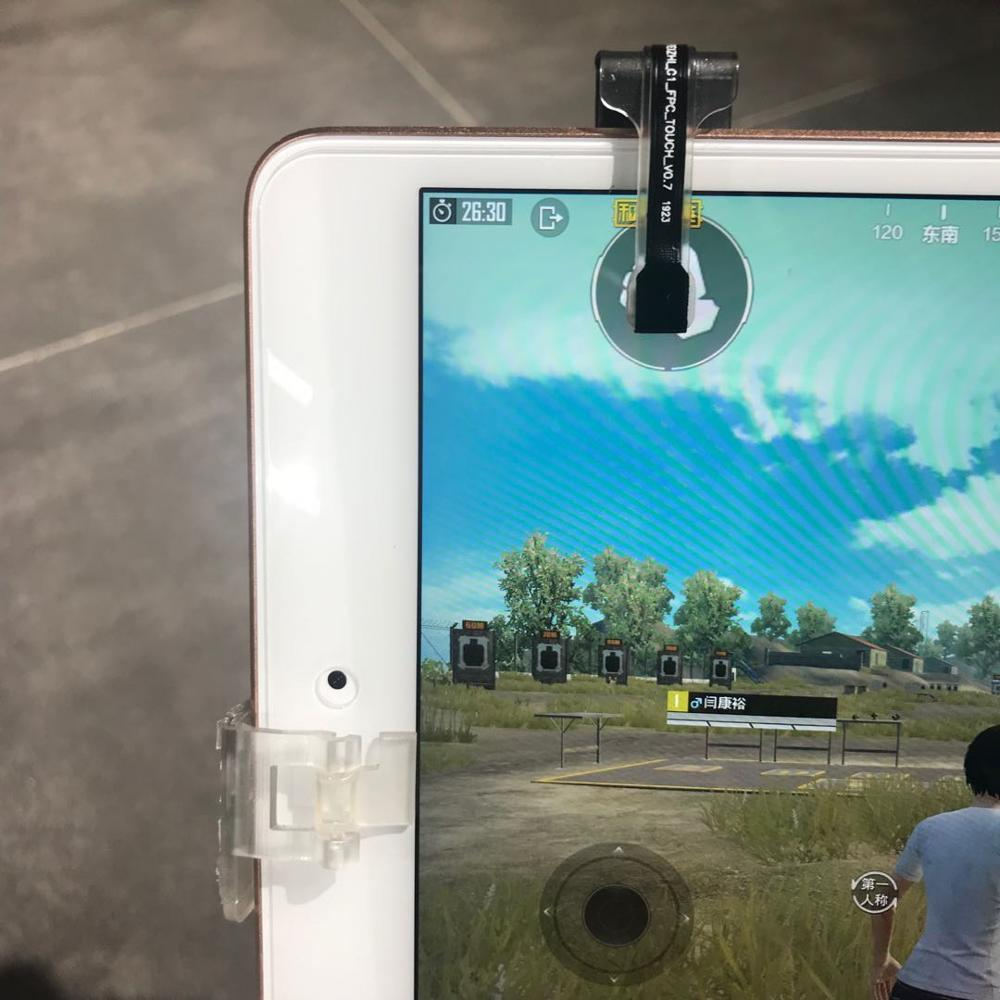 Knives Out Rules Of Survival Smart Phone Electric Game ControllerTrigger L1R1 Shooter PUBG Automatic Shooting For Pad