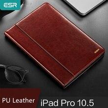 ESR Fall für iPad Pro 10.5/11 Abdeckung Premium PU Leder Luxus Business Folio Stand Auto Wake Smart Cover für iPad Pro 11 2019
