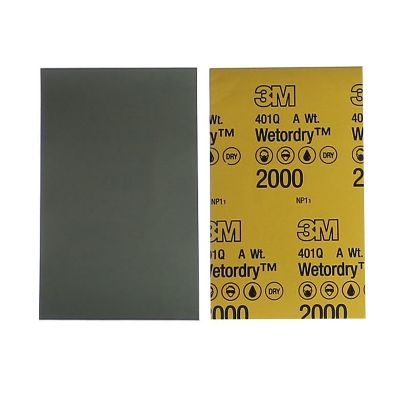 50 Pieces Premium Quality 401Q Abrasives Polishing Sandpaper Automotive Beauty / Maintenance / Scratch Repair