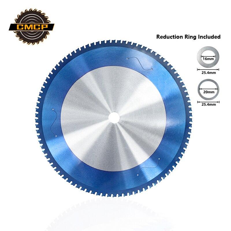Circular Saw Blade 1pcs Metal Cutting Saw Blade 355mm 90Teeth Nano Blue Coating Carbide Circular Saw Cutting Discs
