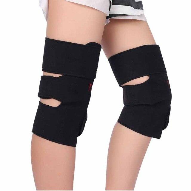 1 Pair BYEPAIN Tourmaline Self -heating Kneepad Magnetic Therapy Knee Support Tourmaline Knee Brace Belt Knee Massager 4