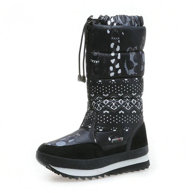 Natürliche wolle Winter stiefel mixed pelz Frauen Schnee Stiefel Warme schuhe Plus größe bis zu 41 schnelle zip setzen auf weibliche beliebte stil freies schiff