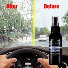 1 pçs 30ml automóvel pára-brisa à prova de chuva à prova dwaterproof água revestimento spray carro janela vidro mais limpo ferramenta limpeza acessórios do carro tslm1