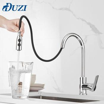 Single Hole Handle Swivel 360 Degree Water Mixer Tap Chrome Single Handle Pull Out Kitchen Tap Kitchen Mixer Faucets Tap kitchen faucets silver single handle pull out kitchen sink tap single hole handle swivel 360 degree rotation water mixer tap