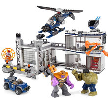 New Superheroes Avengers 4 Marvel Building Blocks Toys Compatible Legoed Technic Educational Toys For Children Christmas Gifts(China)