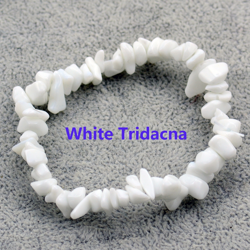 Natural Irregular Gem Stone Bracelet Stretch Chip Beads Nuggets Amazonite Rose Crystal Quartz Bracelets Bangles For Women