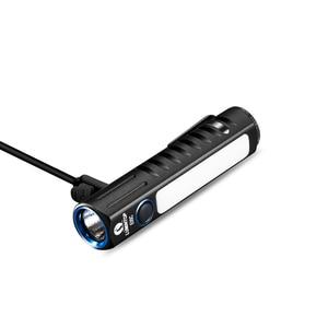 Image 5 - LUMINTOP E05C USB tipo 14500 linterna XPL HI principal LED Nichia luz lateral circuito de impulso UI mini linterna EDC práctica