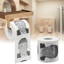 Drôle petit rouleau de papier toilette président américain Trump/Biden/Obama blague papier toilette rouleau blague papier de soie fournitures de fête à la maison
