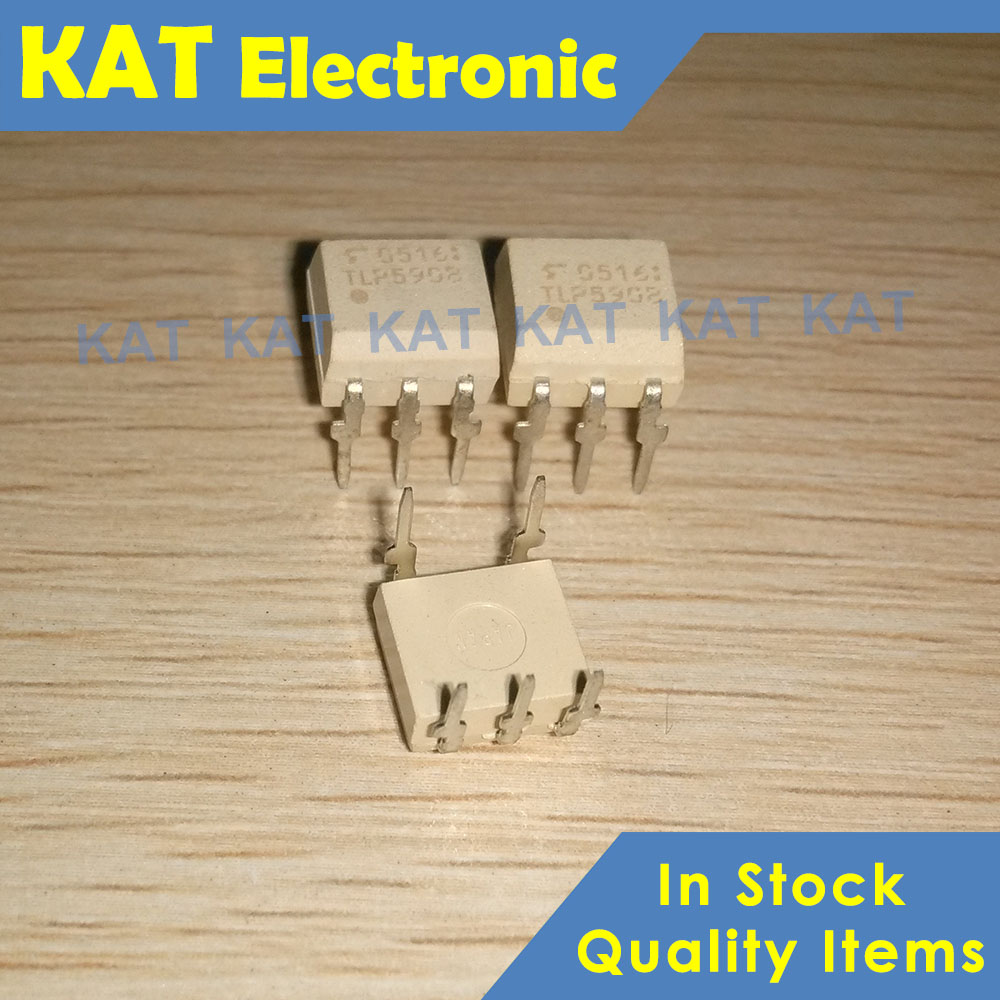 5PCS/Lot TLP590B DIP-6 Photocoupler GaA&As Ired & Photo-Diode Array