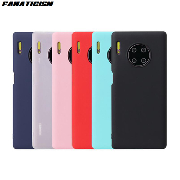 200pcs Matte Candy TPU Case For Samsung iphone 11 Huawei Mate 30 Pro Soft Silicone Back Cover For Xiaomi Redmi VIVO OPPO Coque