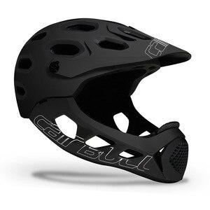 Image 2 - Cairbull ALLCROSS mtb 新山クロスカントリー自転車フルフェイスヘルメット極端なスポーツ安全ヘルメット casco ciclismo bicicleta