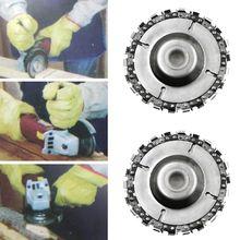 4-дюймовый шлифовальник диск и цепи 22 зуб четкий вырез цепи набор для 100/115 угол Грин