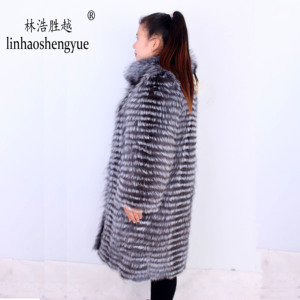 Image 5 - Linhaoshengyue 1 m largo Fox zorro rojo