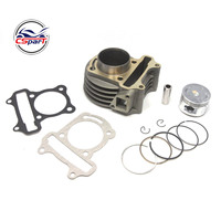 47mm Big Bore Kit Cylinder Piston Rings fit for GY6 50cc to 80cc 4 Stroke Scooter Moped ATV with 139QMB 139QMA engine