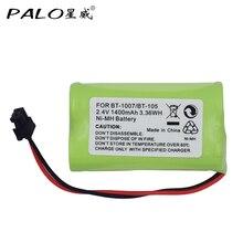 Hot Sale Universal Cordless Phone Battery 2.4V AA 1400mAh NI