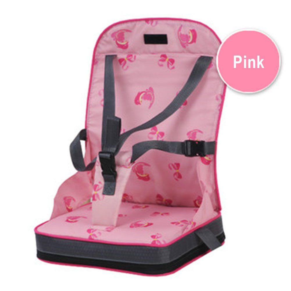 Infant Washable Foldable Oxford Cloth Home Dining Safety Belt Baby Chair Bag Travel Portable Seat Feeding Harness Lunch