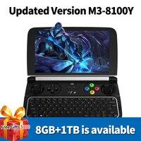 New GPD Win 2 WIN2 Intel Core m3 8100y Quad core 6 GamePad Tablet Windows 10 8GB RAM 256GB ROM Pocket Mini PC Computer Laptop