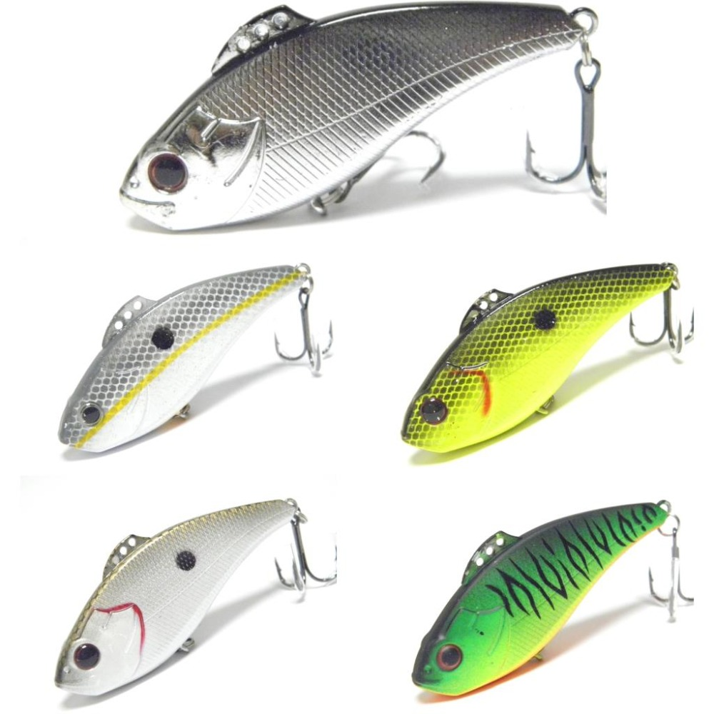 WLure 2018 New 7cm 20g Long Distance Casting Lipless Jigging Retrieving 3 Tie Positions Tight Wiggle Fishing Lure L773