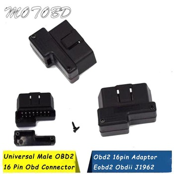 Uniwersalny męski OBD2 16 pinowe złącze Obd Obd2 16pin adapter Eobd2 Obdii J1962 złącze z numerem przesyłki tanie i dobre opinie Other Latest OBD2 16 Pin Connector english Male OBD2 16 Pin Connector OBD2 J1962 Connector OBD2 16 Pin Cable Diagnostic Connector