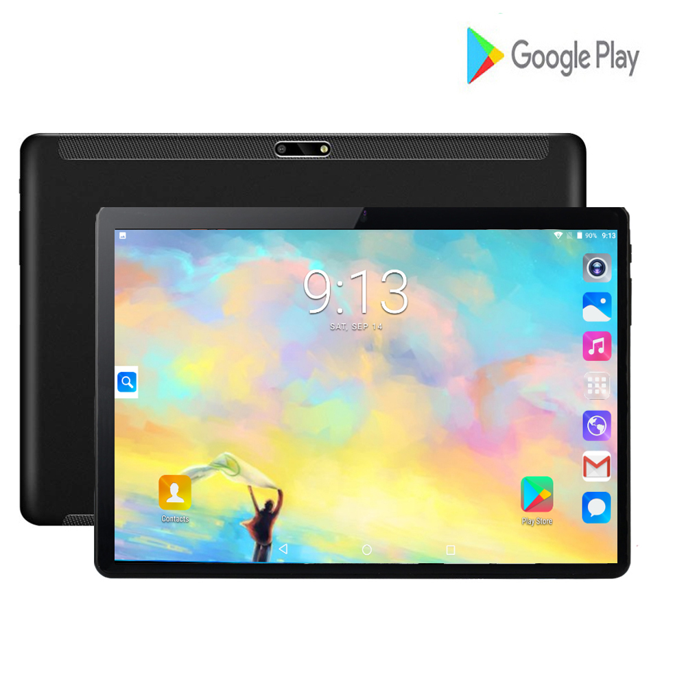 2020 New Ulta Slim 10 Inch Tablets Game Youtube Google Play Tablet PC 3G WIFI Network 8.0MP Camera Large Screen Tablets 10.1