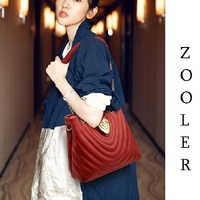 ZOOLER Fashion Women Leather Shoulder Bags for Ladies Pattern Female Tote Bag Roomy Commuting Handbags Luxury Cow bags#QS218