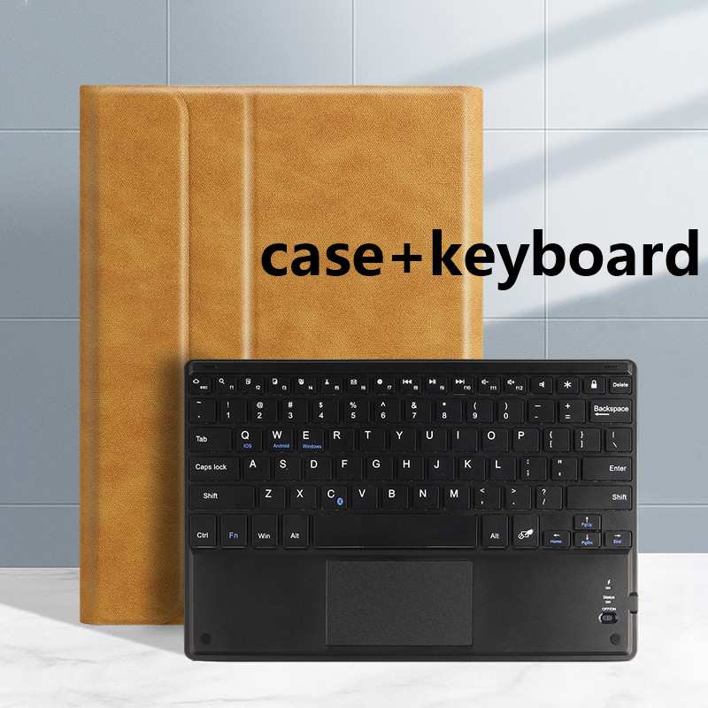 brown Black Smart case For iPad Pro 11 2020 2018 A2228 A2068 A2230 Tablet Slim Bluetooth Keyboard Case