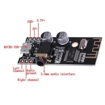 New Bluetooth Audio Receiver board Bluetooth 4.2 Universal Module Receiver Wireless Stereo Music Module Speaker Amplifier lusya csr64215 amplifier 4 2 apt x wireless lossless bluetooth audio stereo receiver board 6 36v a7 007