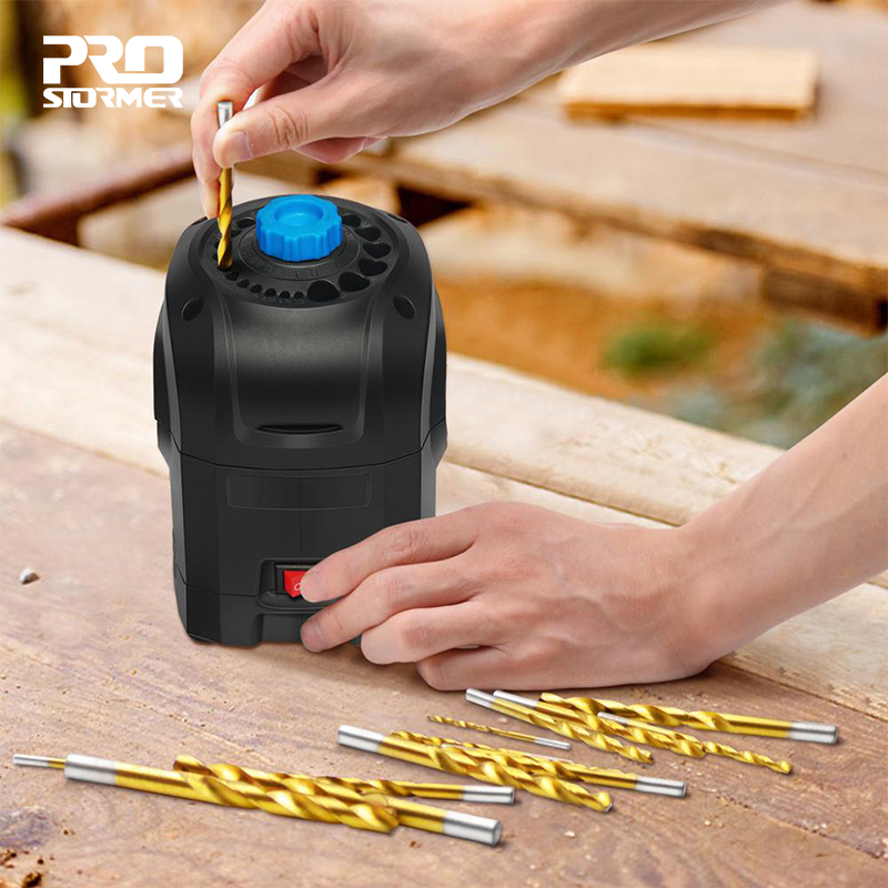 Electric Drill Sharpener 3 12mm Grinding Machine Drill Bit 95W High Speed Household Eutomatic Grinding Tools by PROSTORMER|Grinders|   - AliExpress