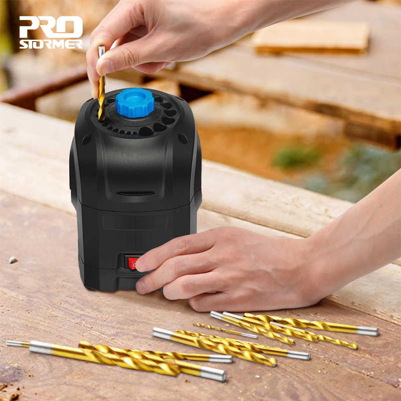 Trapano elettrico Per Affilare I Coltelli di 3-12mm Macchina Per La Frantumazione di Punta Del Trapano 95W Ad ALTA Velocità Per Uso Domestico Eutomatic Utensili di Rettifica Da PROSTORMER