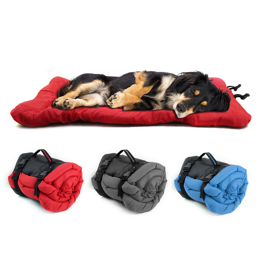 Кровать для собаки, одеяло, портативная подушка для собаки, коврик, водонепроницаемый, для улицы, питомник, складные кровати для домашних животных, диван для маленьких больших собак