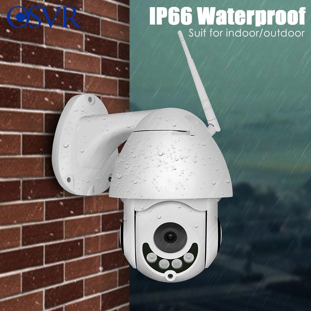 IP Camera 1080P Wireless PTZ Speed Dome WiFi Outdoor Two Way Audio CCTV Security Video Network Surveillance Camera P2P