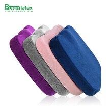 Подушка PurenLatex 45*35 из пены с эффектом памяти для кресла, тонкая подушка, подушка с медленным восстановлением бедер, коврик для ортопедической подушки для поясницы