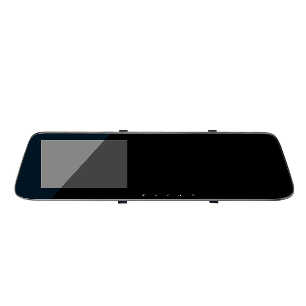 4.3 pouces Double enregistrement voiture Dash caméra HD Carcorder avertissement vitesse rétroviseur enregistreur vidéo avec Vision nocturne Q1