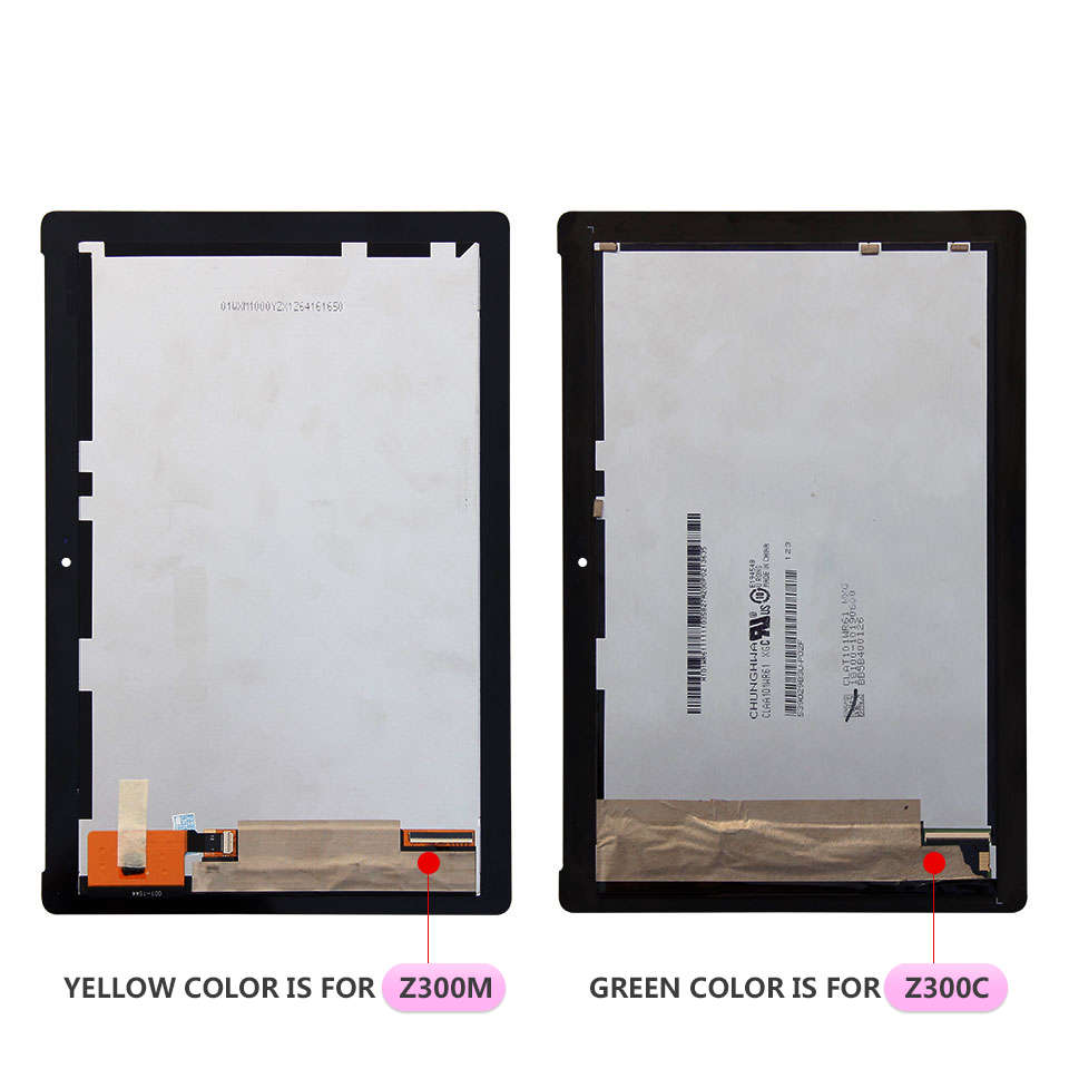 100% Tested For ASUS ZenPad 10 Z300 Z300C Z300CG <font><b>Z300M</b></font> P00C LCD Display Touch Screen Digitizer Assembly Free Tools image