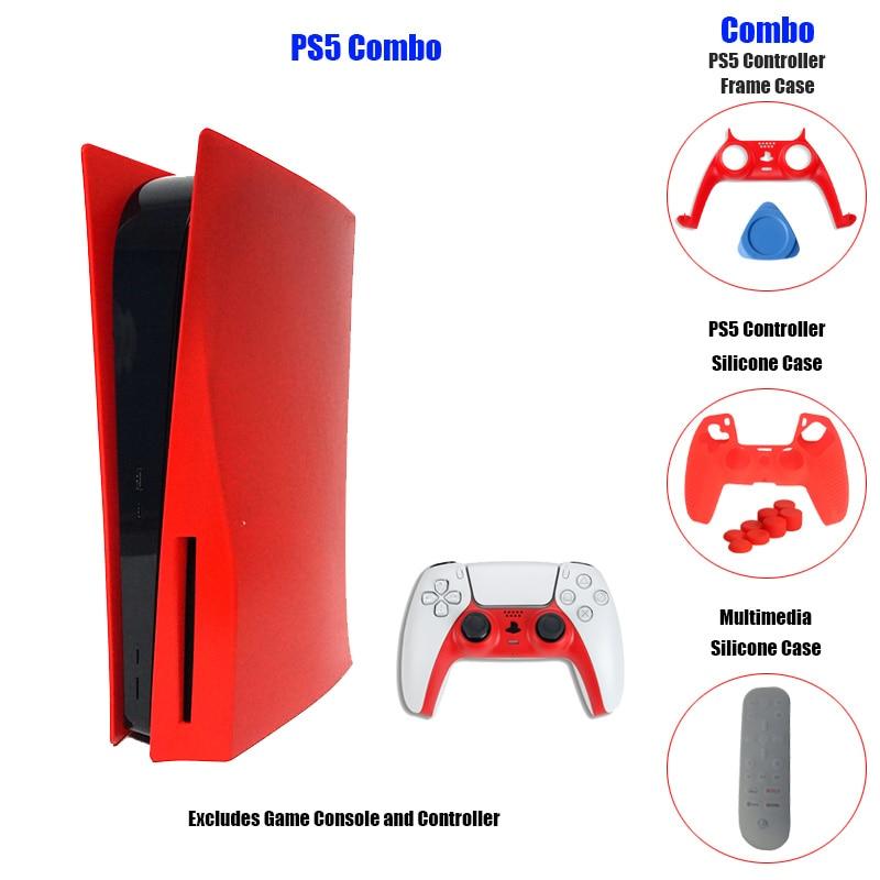 PS5 панель чехол Лицевая панель Чехлы диск издание Сменный Чехол чехол Обложка для PS5 пластины цифровая версия Чехол Sakura Joy Con|Чехлы|   | АлиЭкспресс