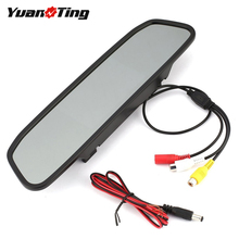 Screen Camera Reverse-Monitor Car-Color Video-Input Auto-Parking-Backup Rear-View TFT