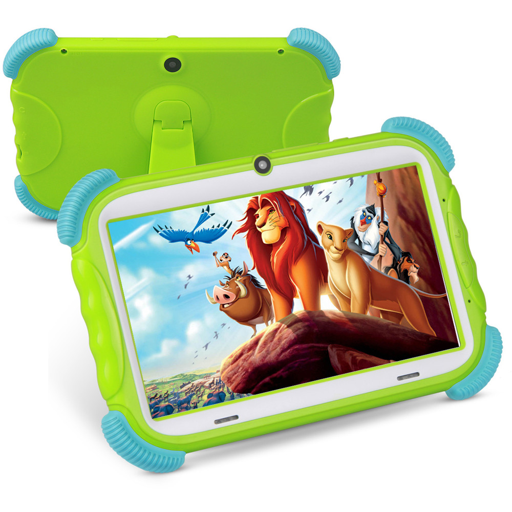 2020 Hot Sales 7 Inch Android 8.0 Kids Tablet 16GB Babypad Edition PC With Wifi 2MP GMS Certified Supported Kids-Proof Case