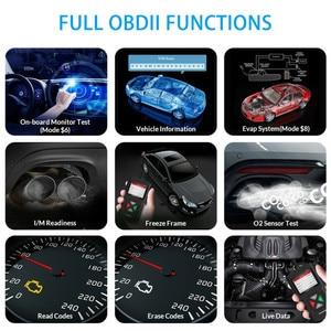 Image 5 - OBDII Scanner lettore di codice strumento di scansione per veicoli Auto Scanner diagnostico per Auto rilevatore di codici di errore del motore per Bmw Ford VW KIA