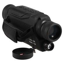 Nachtsicht Monokulare 2x Digital Zoom Wasserdicht IR Nacht Vision Umfang Für Jagd Gerät mit 200M Abstand Kamera video