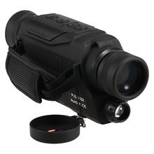 Night Vision Monocular 2x Digital Zoom Water Resistant IR Night Vision Scope For Hunting Device with 200M Distance Camera Video