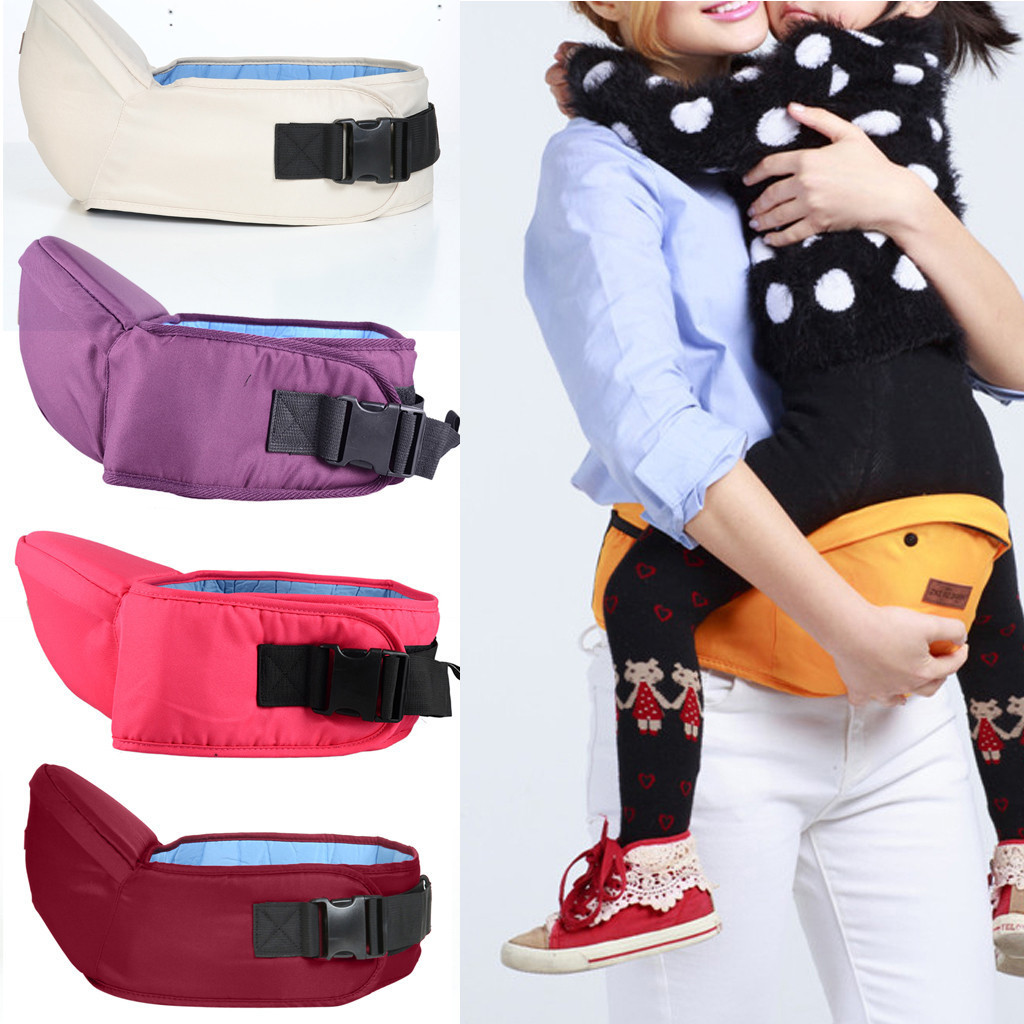 Fashion Baby Carrier Hipseat Waist Stool Walkers Baby Sling Backpack Belt Waist Hold Infant Hip Seat Front Carry 2019 @25|Backpacks & Carriers| |  - AliExpress