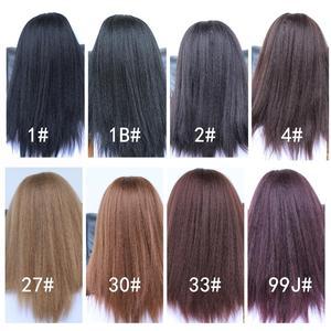 Image 5 - Lydia peruca cabelo sintético, cabelo sintético longo, para mulheres afroamericanas, natureza preta 18 22 Polegada, kanekalon afro