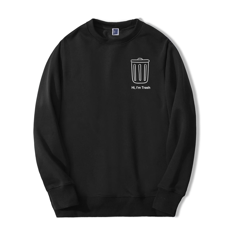 2019 New Mens Fashion Sweatshirts Hoodie Autumn Casual Sportswear Fitness Loose Tracksuit Hip Hop Winter Bodywarmer Streetwear