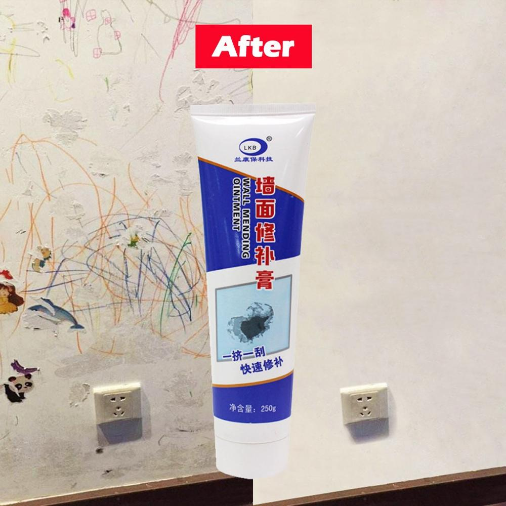 Wall Crack Repair Cream Waterproof Non corrosive Formaldehyde Free White Latex magical fast repair With scraper in All Purpose Cleaner from Home Garden