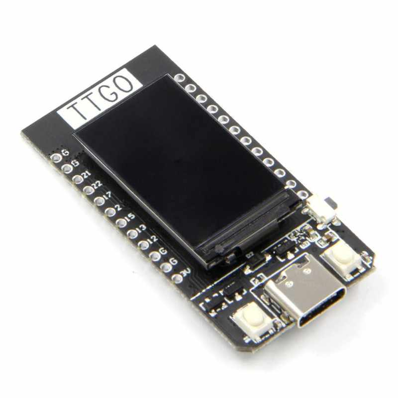 TTGO t-дисплей ESP32 WiFi E Bluetooth модуль макетная плата Para Ar duino 1,14 Polegada lcd