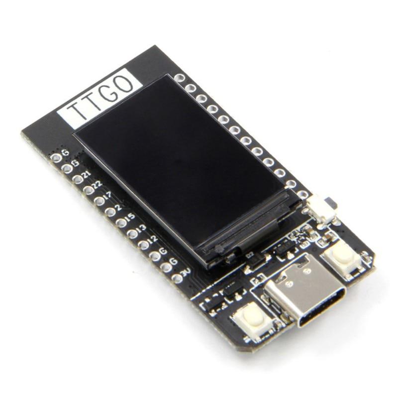 TTGO T-Display ESP32 WiFi E Bluetooth Module Development Board Para Ar duino 1 14 Polegada LCD