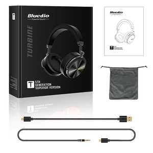 Image 5 - Bluedio T5 Active Noise Cancelling Wireless Bluetooth Headphones Portable Headset with microphone for phones and music